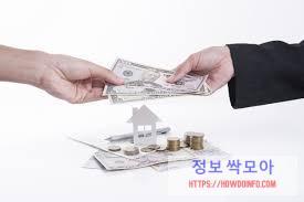 서민대출 종류 를 통해서 대출을 실시하는 모습