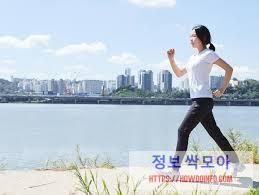 심근경색 초기증상 예방차원 운동하는 여자