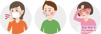 인후통 증상들