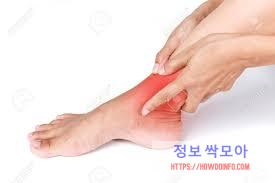 발목통증 호소